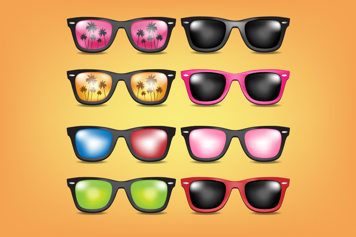 Bundle Vector Sunglasses example image 2