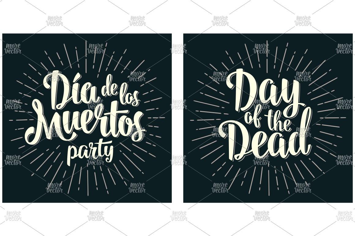 Dia de los Muertos and Day of the Dead example image 2
