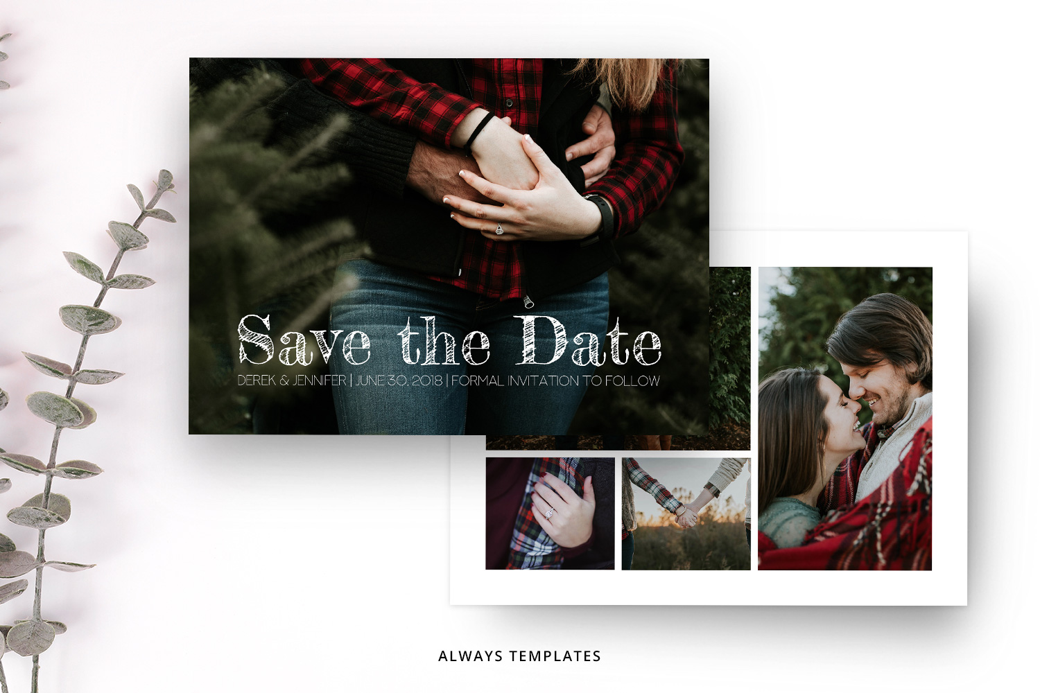 Save the Date SD001 example image 1