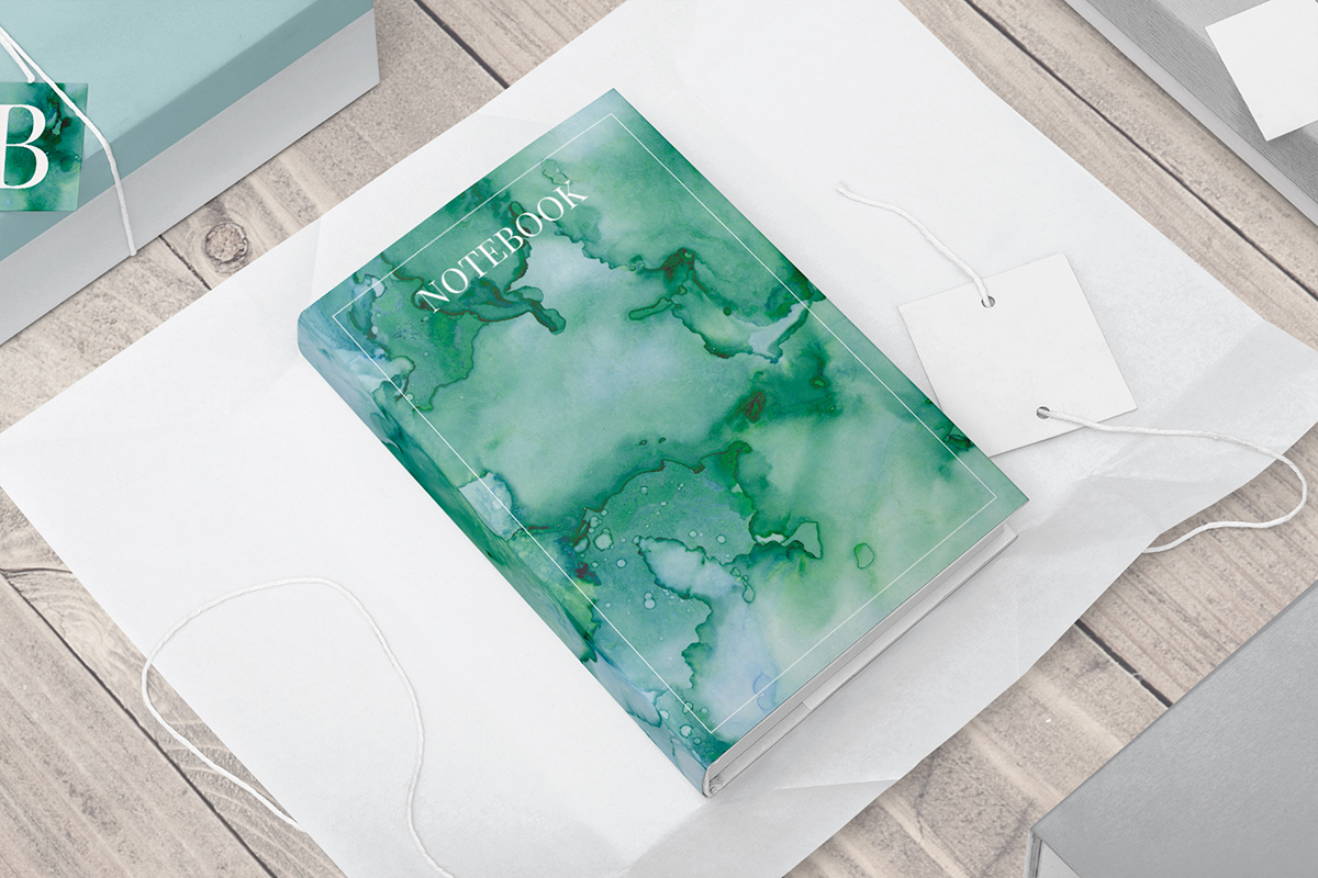 7 Huge Seamless Green Alcohol Ink Textures example image 8