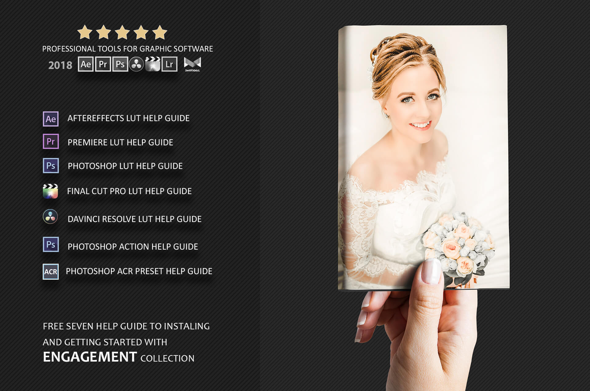 Engagement Color Grading Photoshop actions Filter example image 3