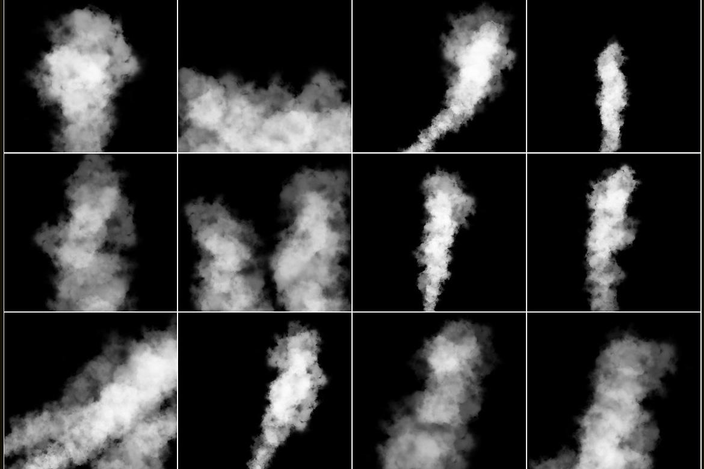 100 Cloudy Smoke Overlays example image 5