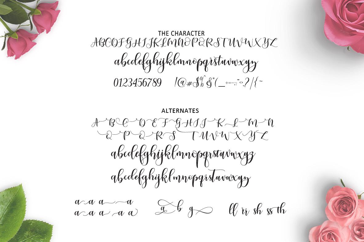 Ladies  script example image 7