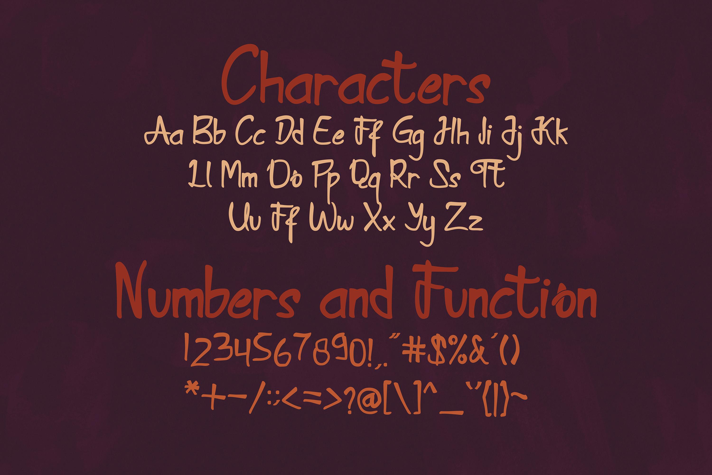 Kamathara UniqueFont example image 6