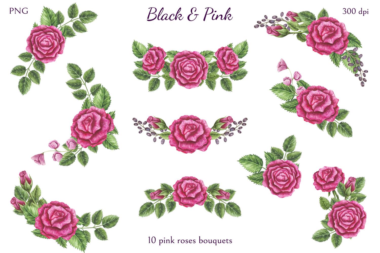 Black & Pink example image 4