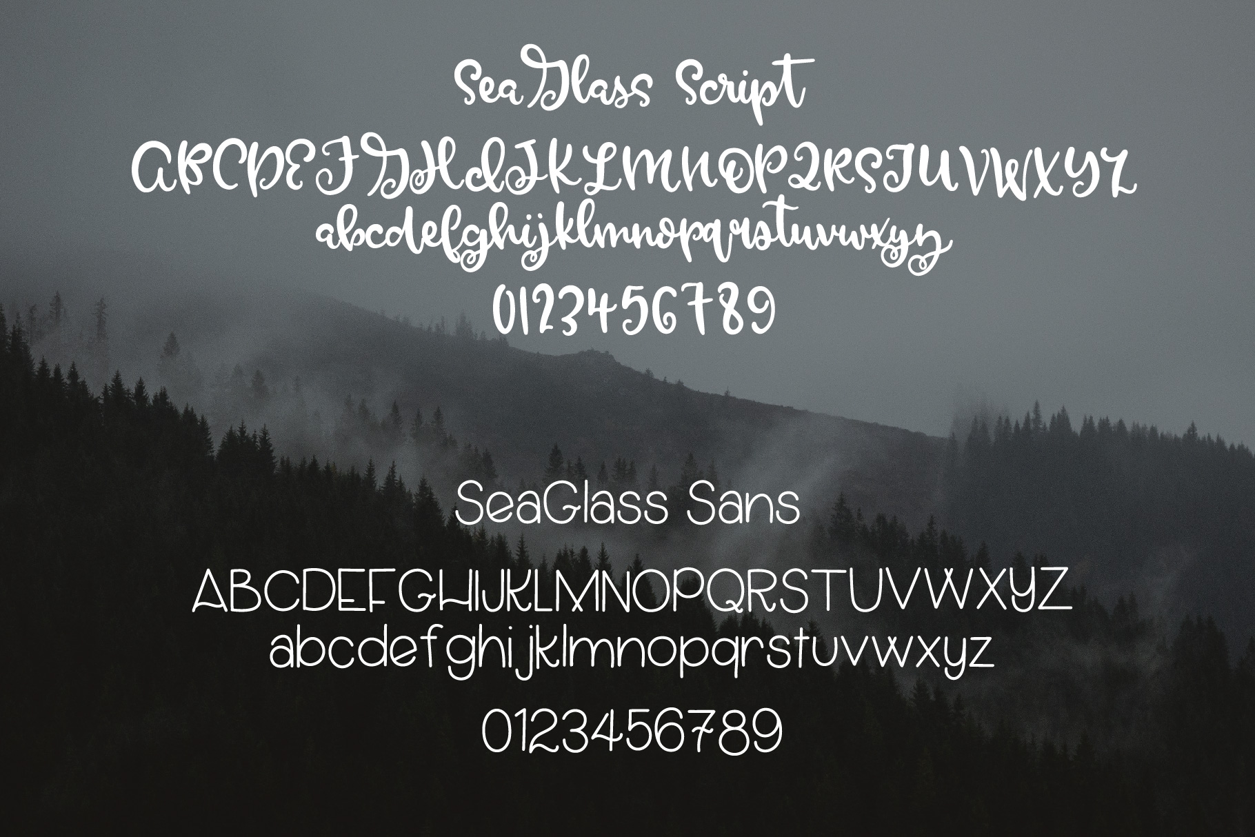 SeaGlass - A Font Duo example image 5