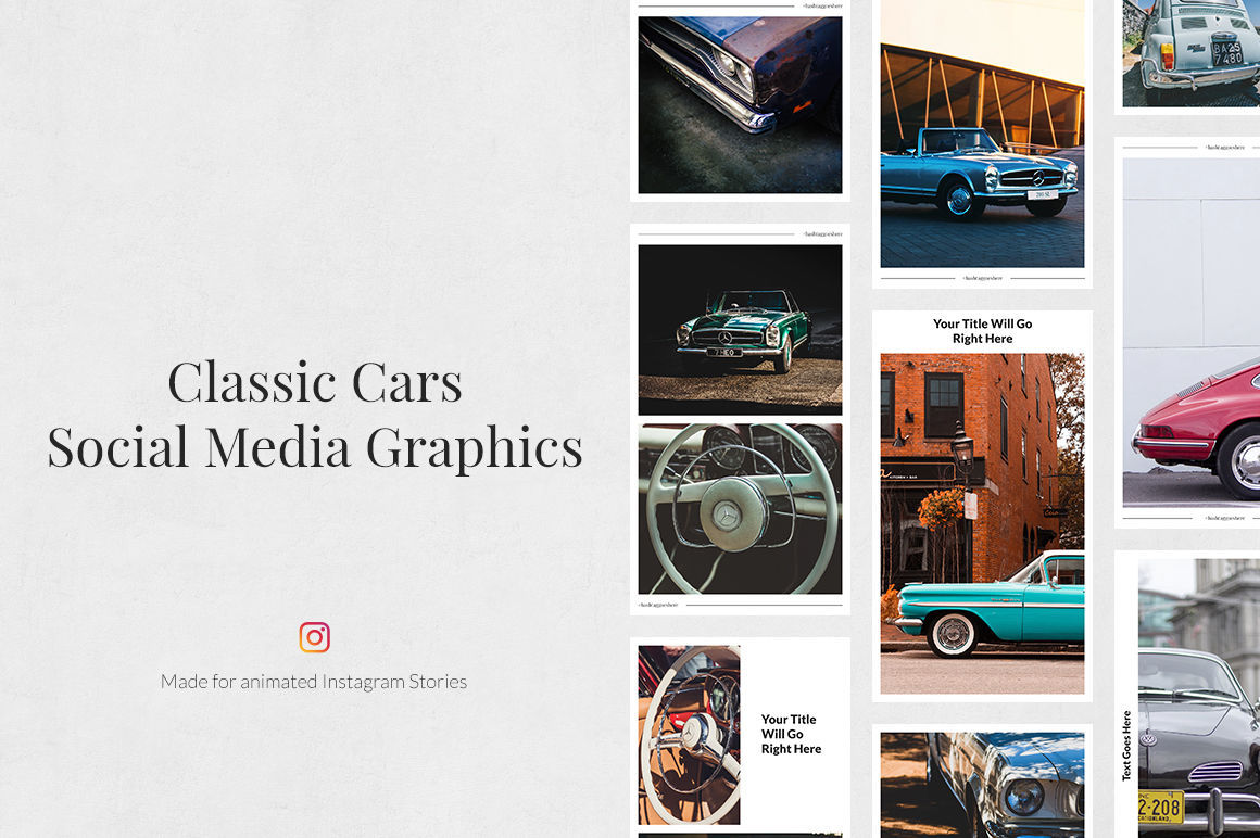 Classic Cars Pack example image 3