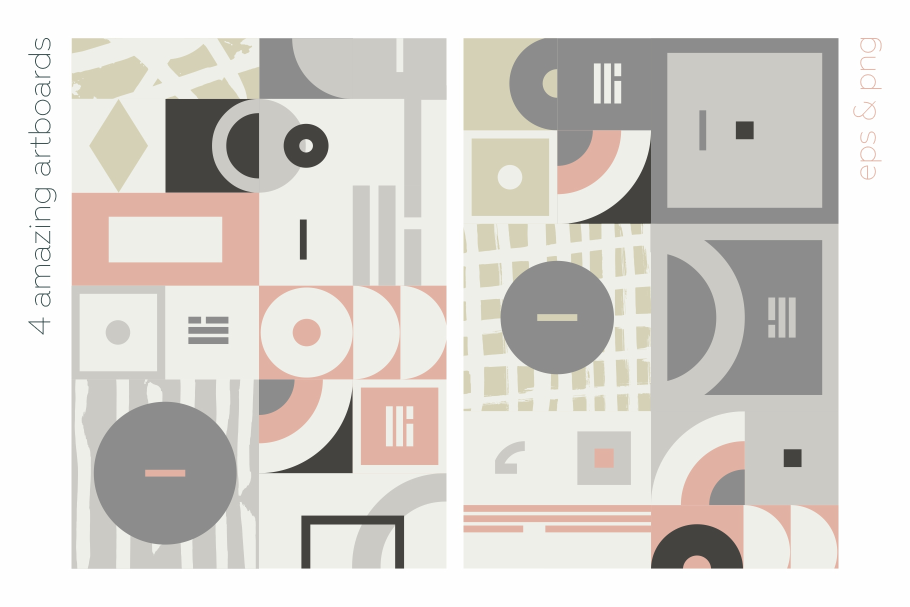 Esthetic Geometric pattern collection example image 10