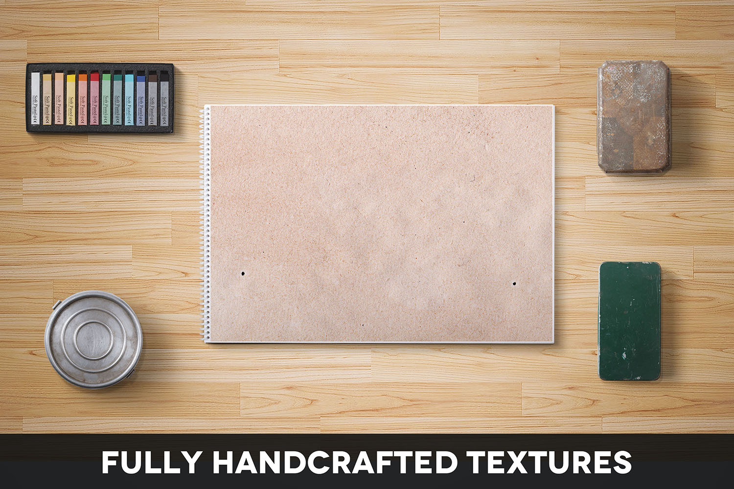 Handcrafted Vintage Paper Textures Vol. 07 example image 2