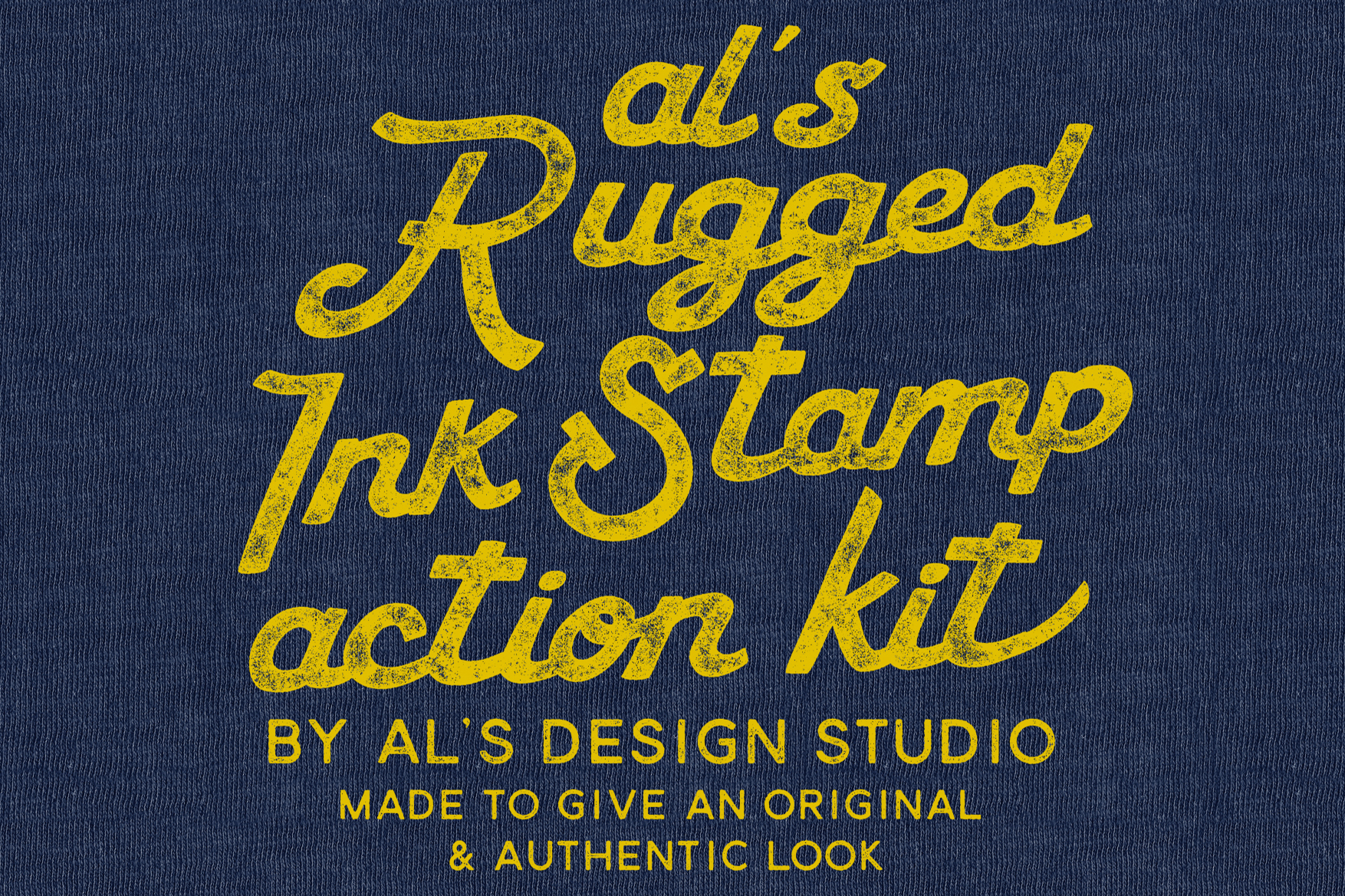 AL's Rugged Ink Stamp Action Kit example image 3