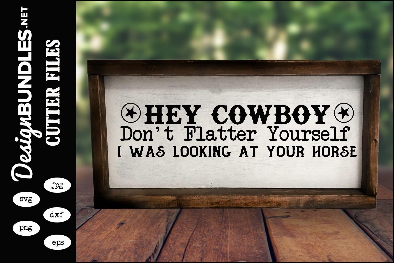 Hey Cowboy SVG example image 1