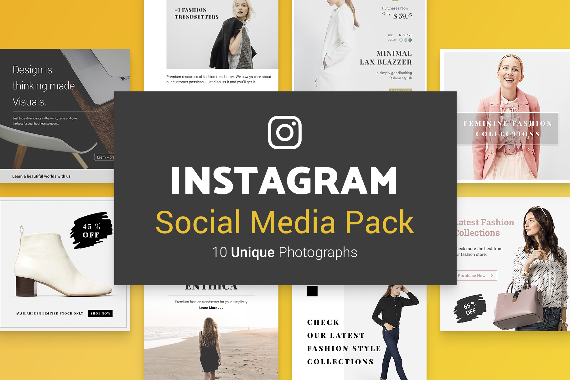 Minimal Social Packs v. 01 example image 8