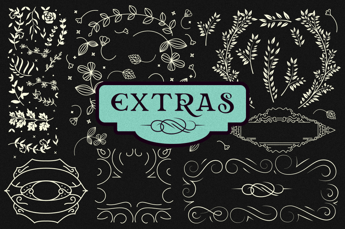 Relove Typeface + Extras example image 7
