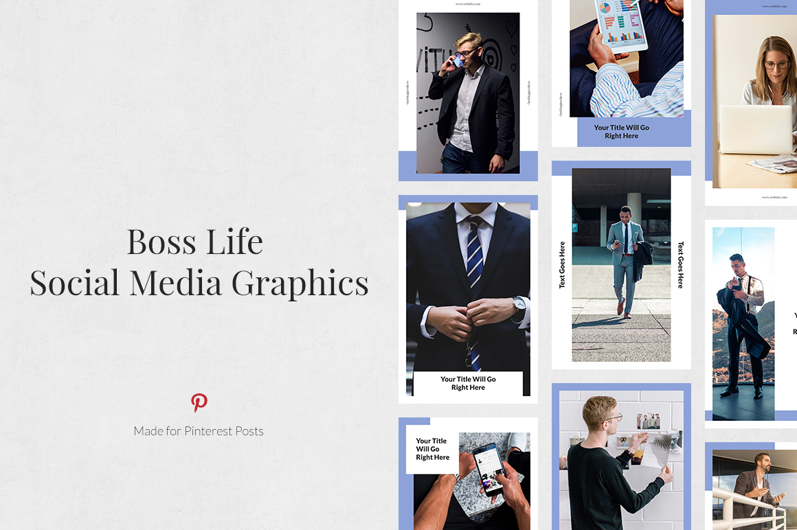 Boss Life Pinterest Posts example image 1