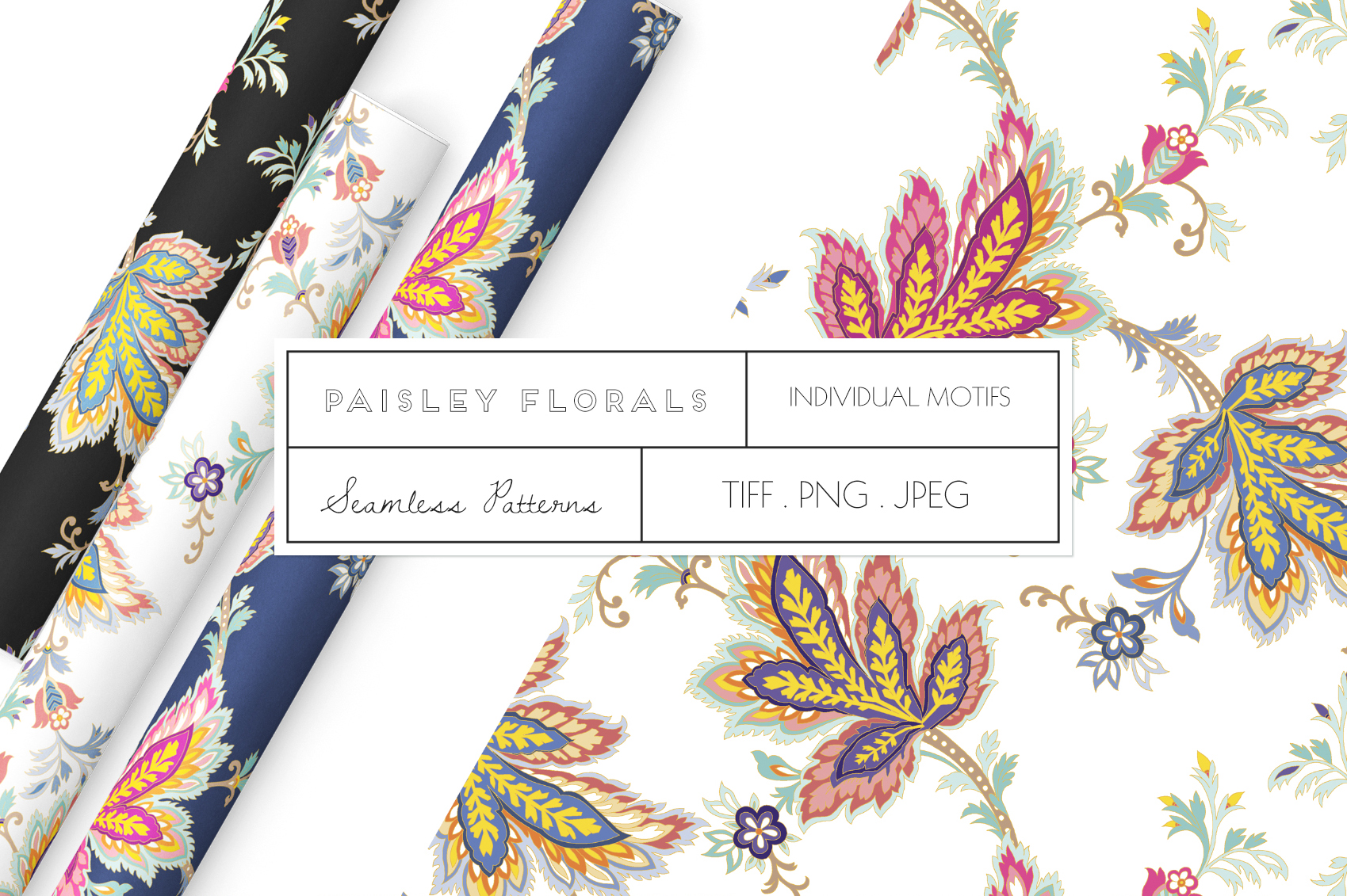 Paisley Florals example image 1
