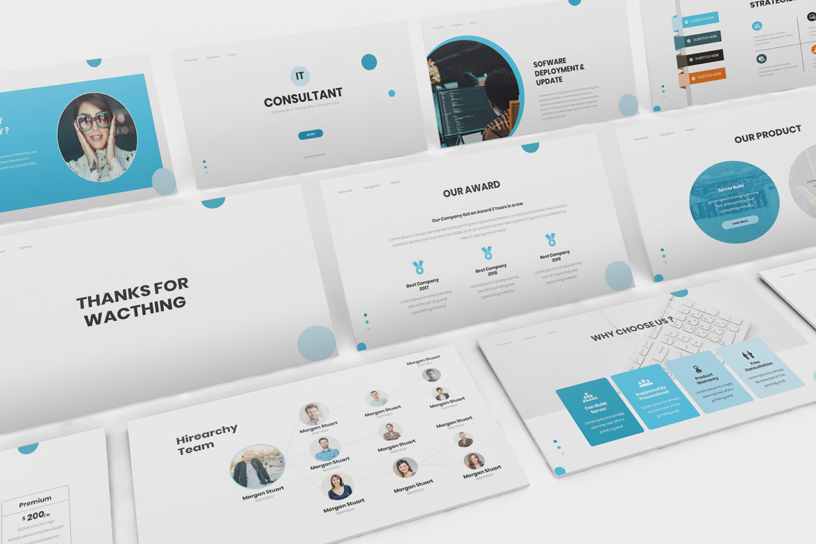 IT Consultant Keynote Template example image 2