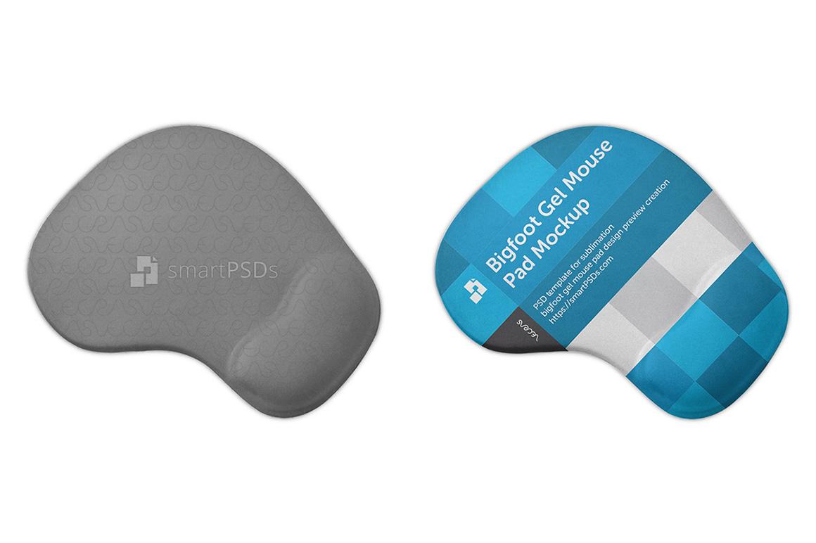 Bigfoot Gel Mouse Pad Design Mockup example image 1