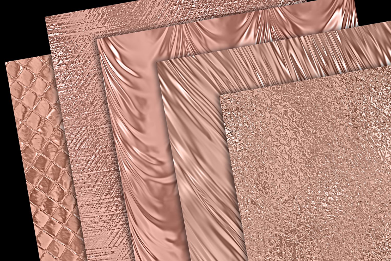 Shiny Rose Gold Metallics example image 3