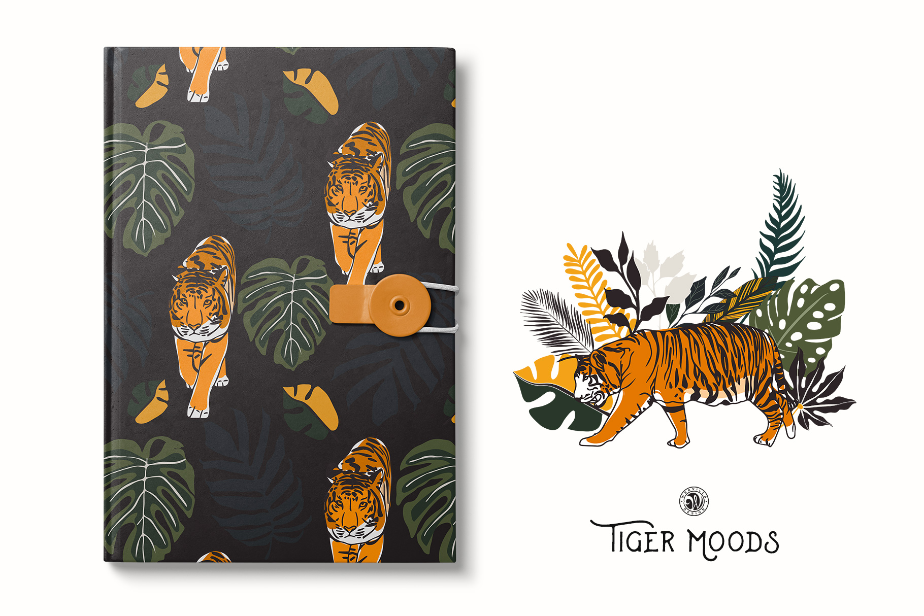 Tiger Moods example image 2