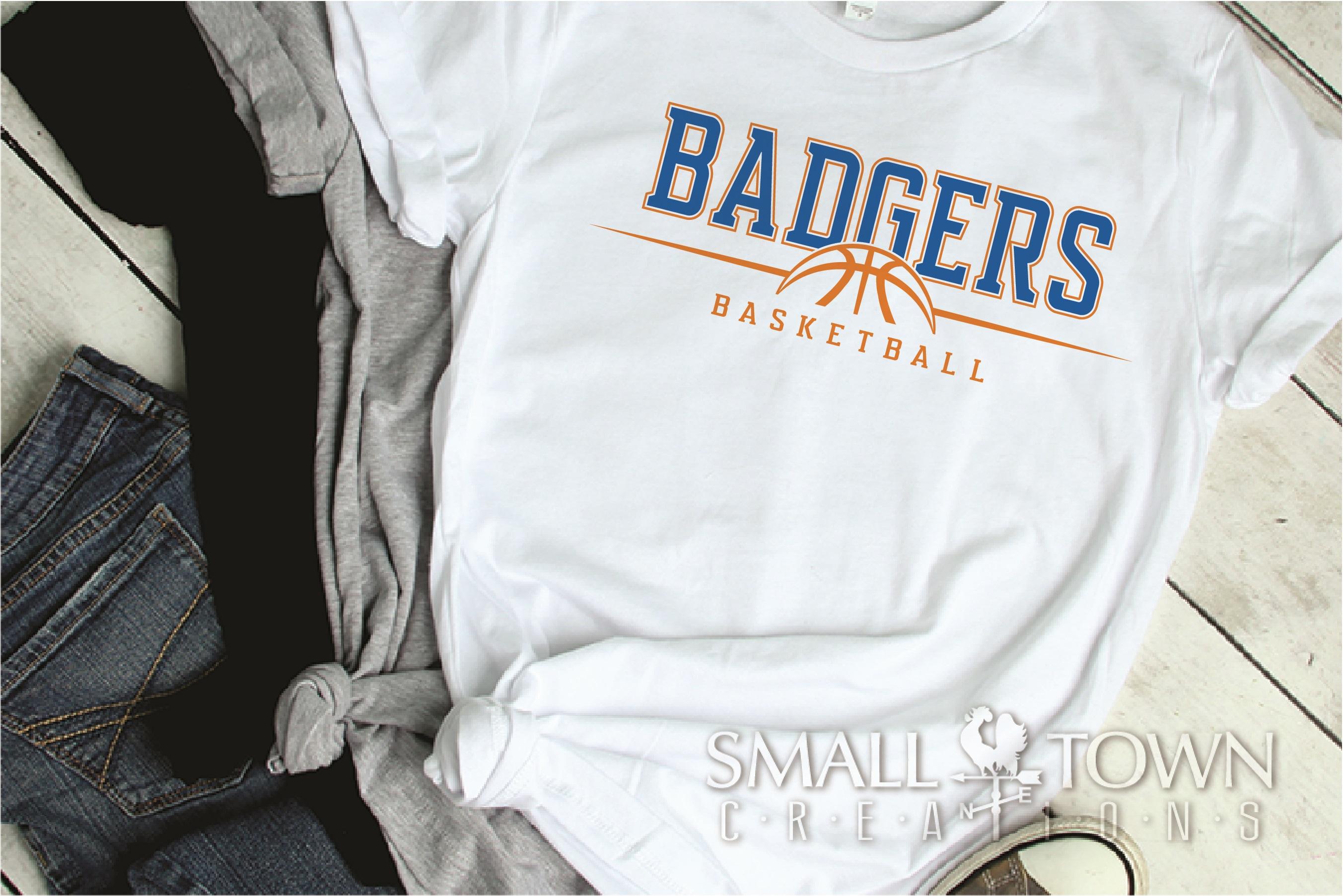Badger, Badger Basketball Team, Sport, PRINT, CUT & DESIGN example image 2