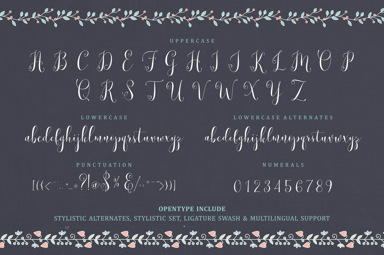 Lemonsalt Sweet Font example image 8