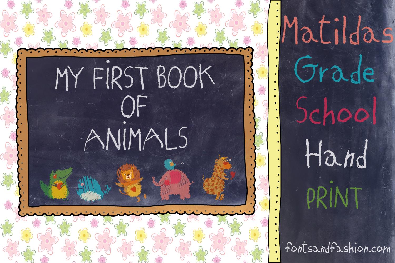Matildas Grade School Hand_Print example image 3