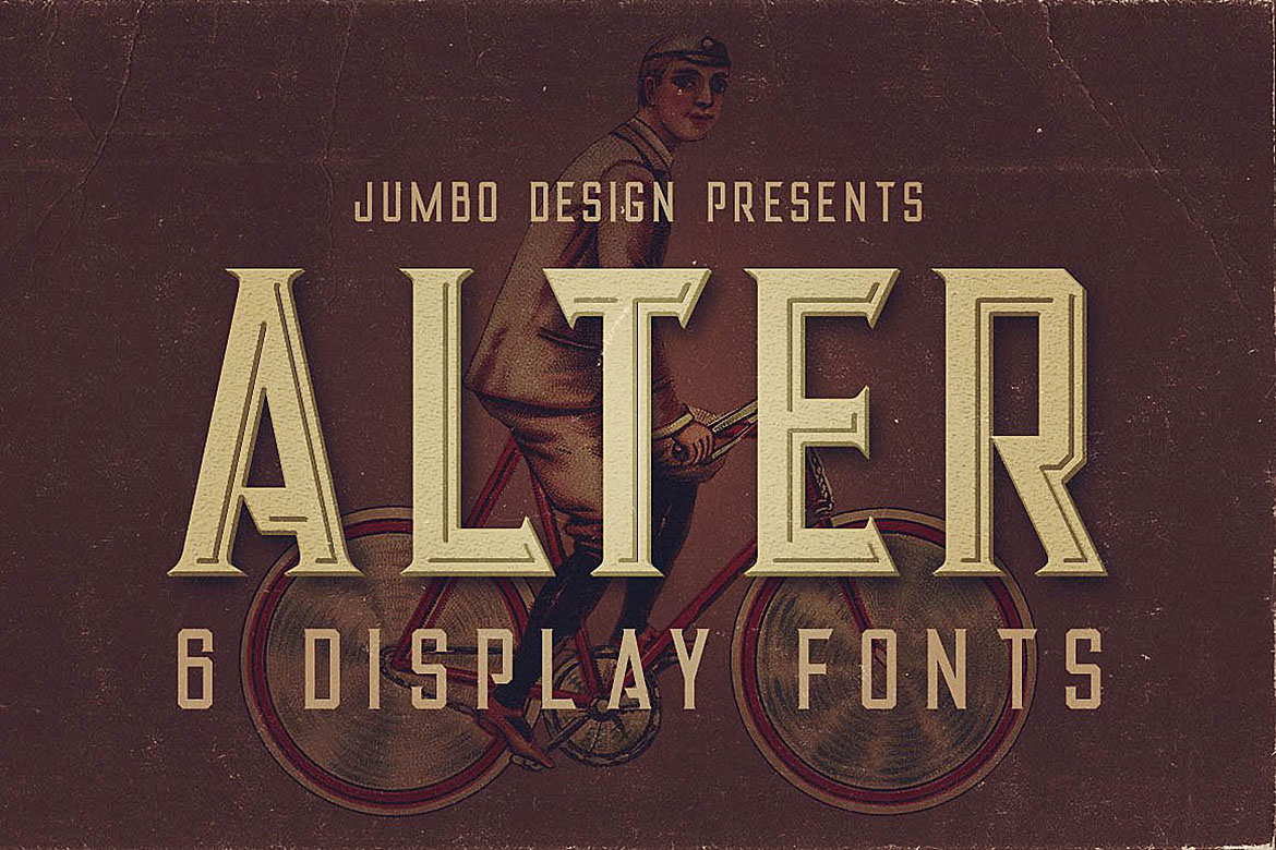 Alter - Vintage Style Font example image 1