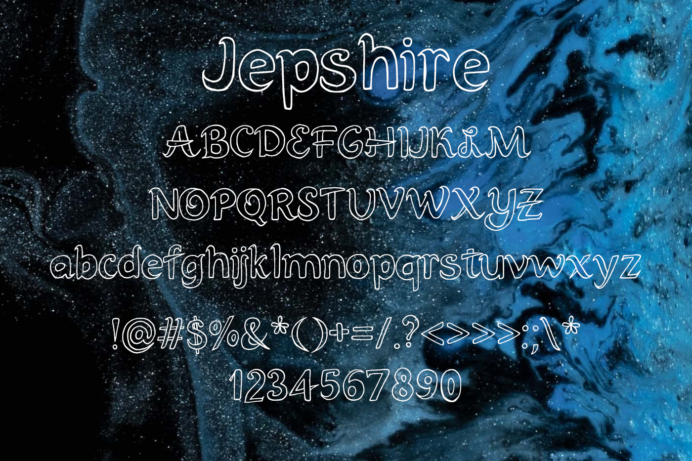 Jepshire Font example image 2