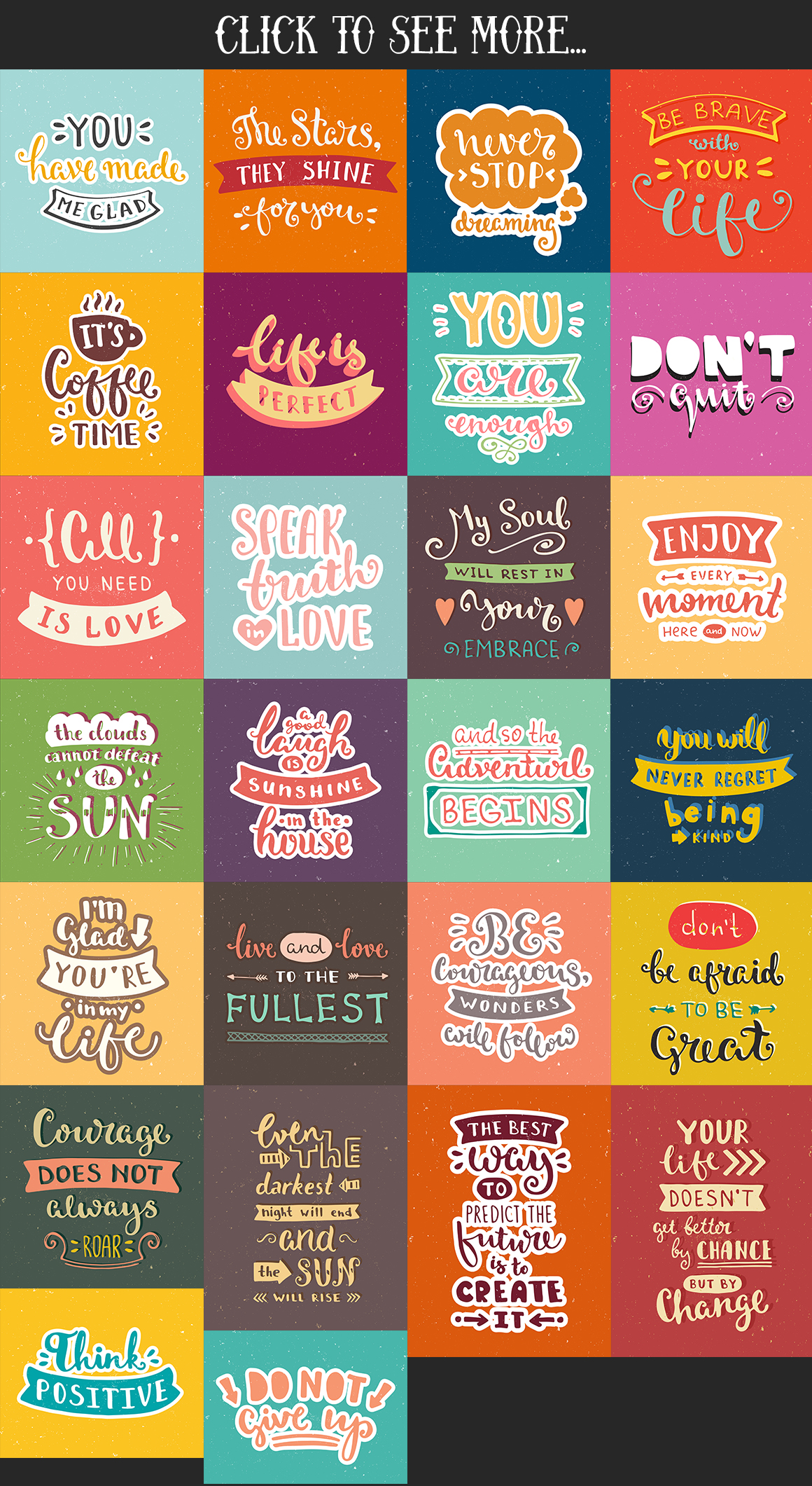 26 Hand Lettering Phrases & Posters example image 3