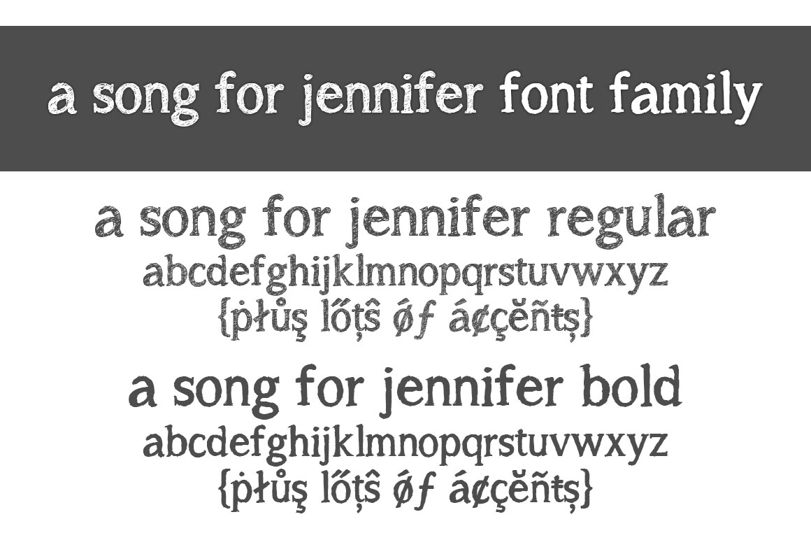 A song for Jennifer example image 3
