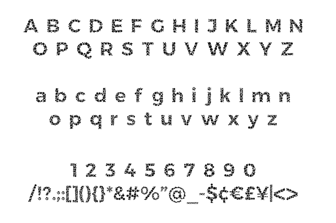 Color Blindness Test Typeface example image 7