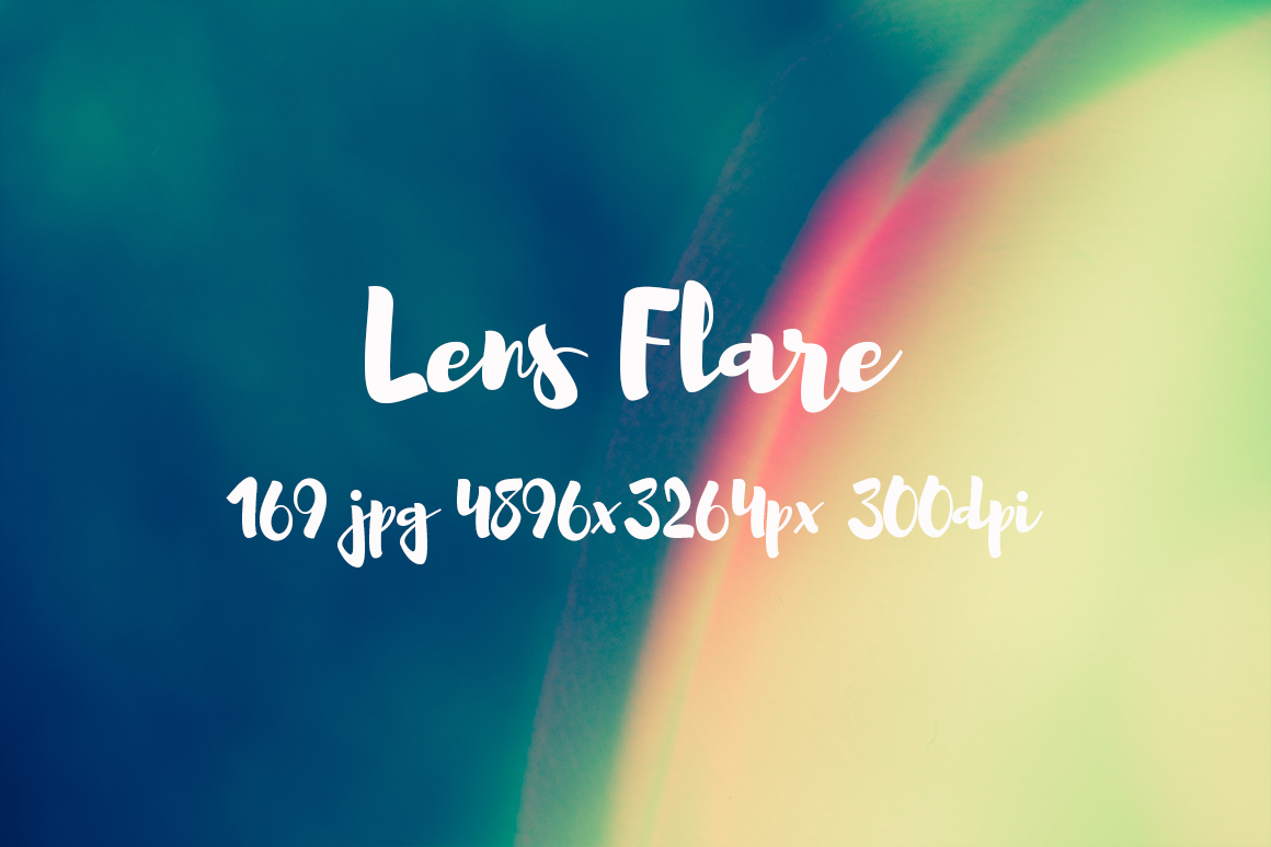 Lens Flare Pack example image 12
