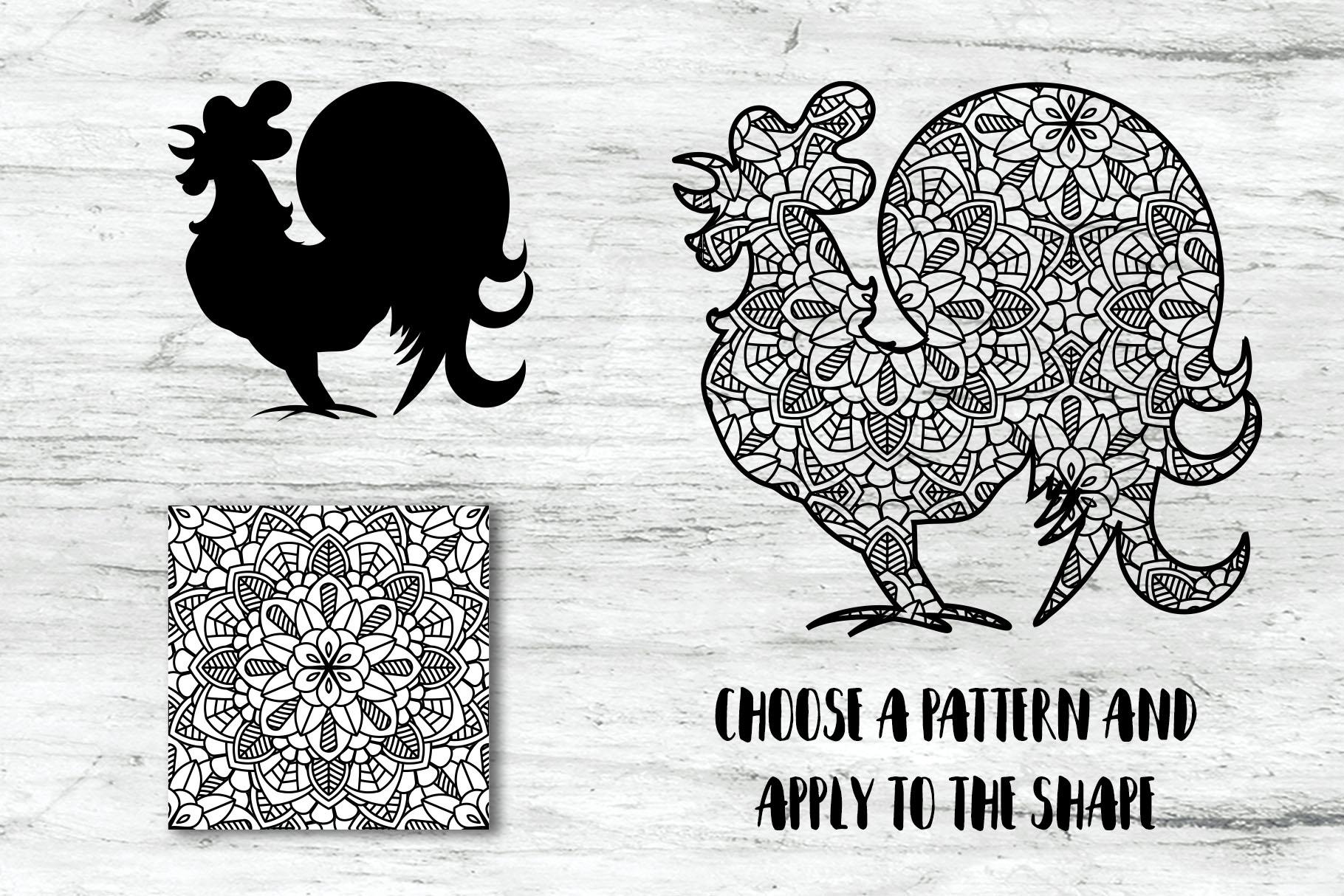 100 Mandalas Seamless Patterns example image 7