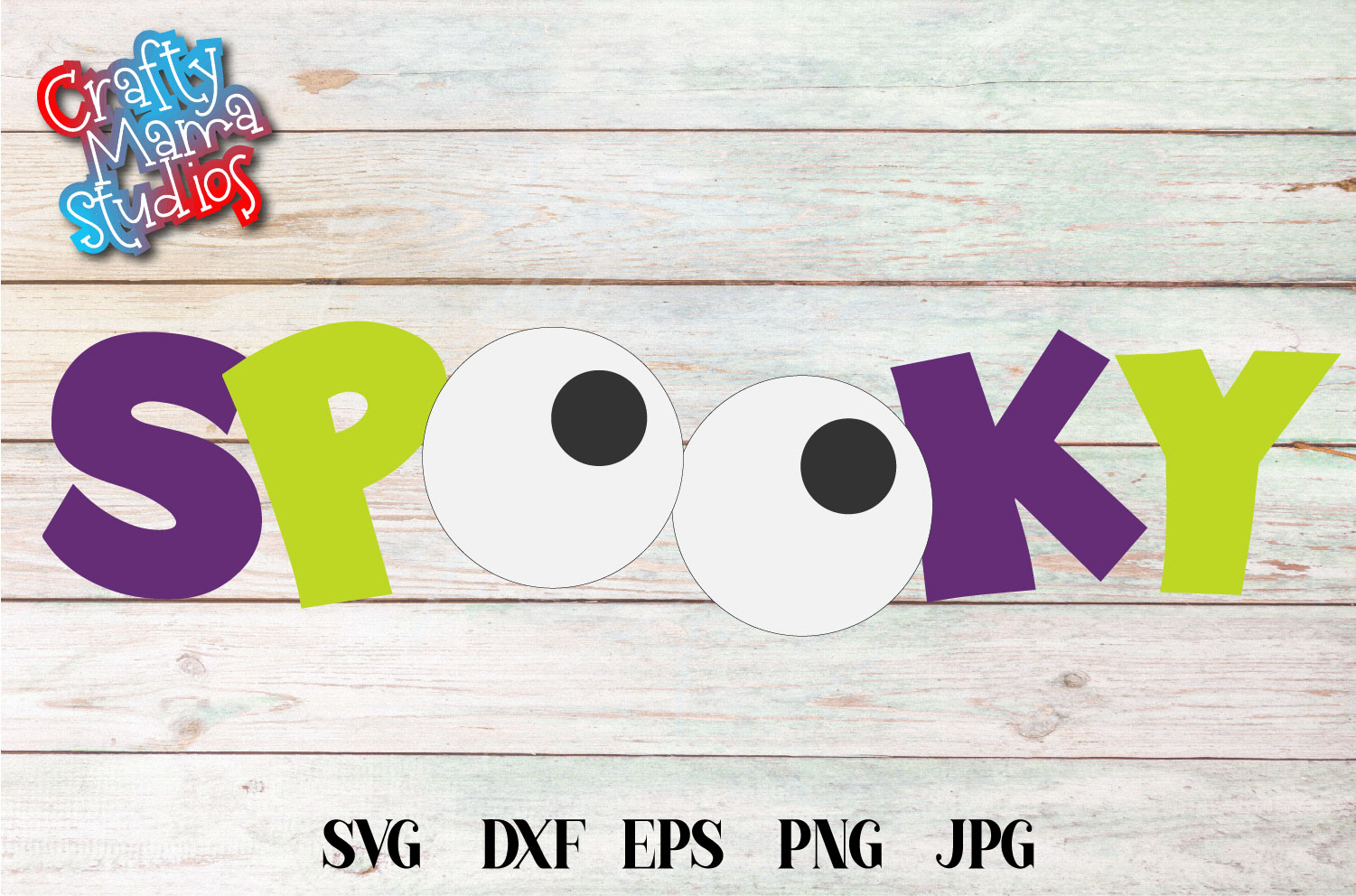 Spooky Halloween SVG Sublimation, Halloween Eyes SVG example image 2
