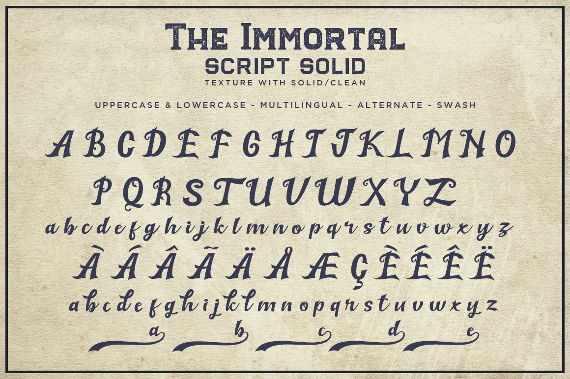 The Immortal // Vintage Collection example image 3