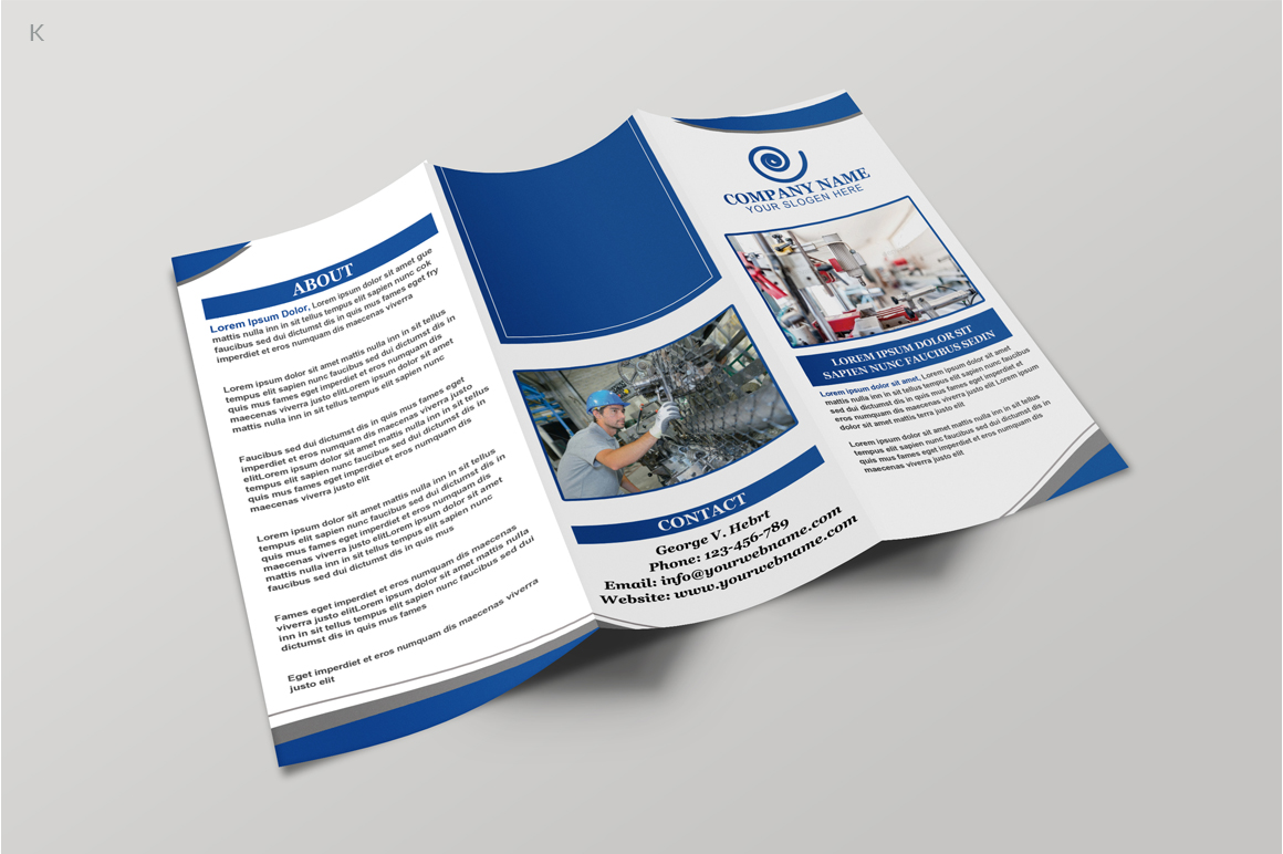 Industerial Trifold example image 2
