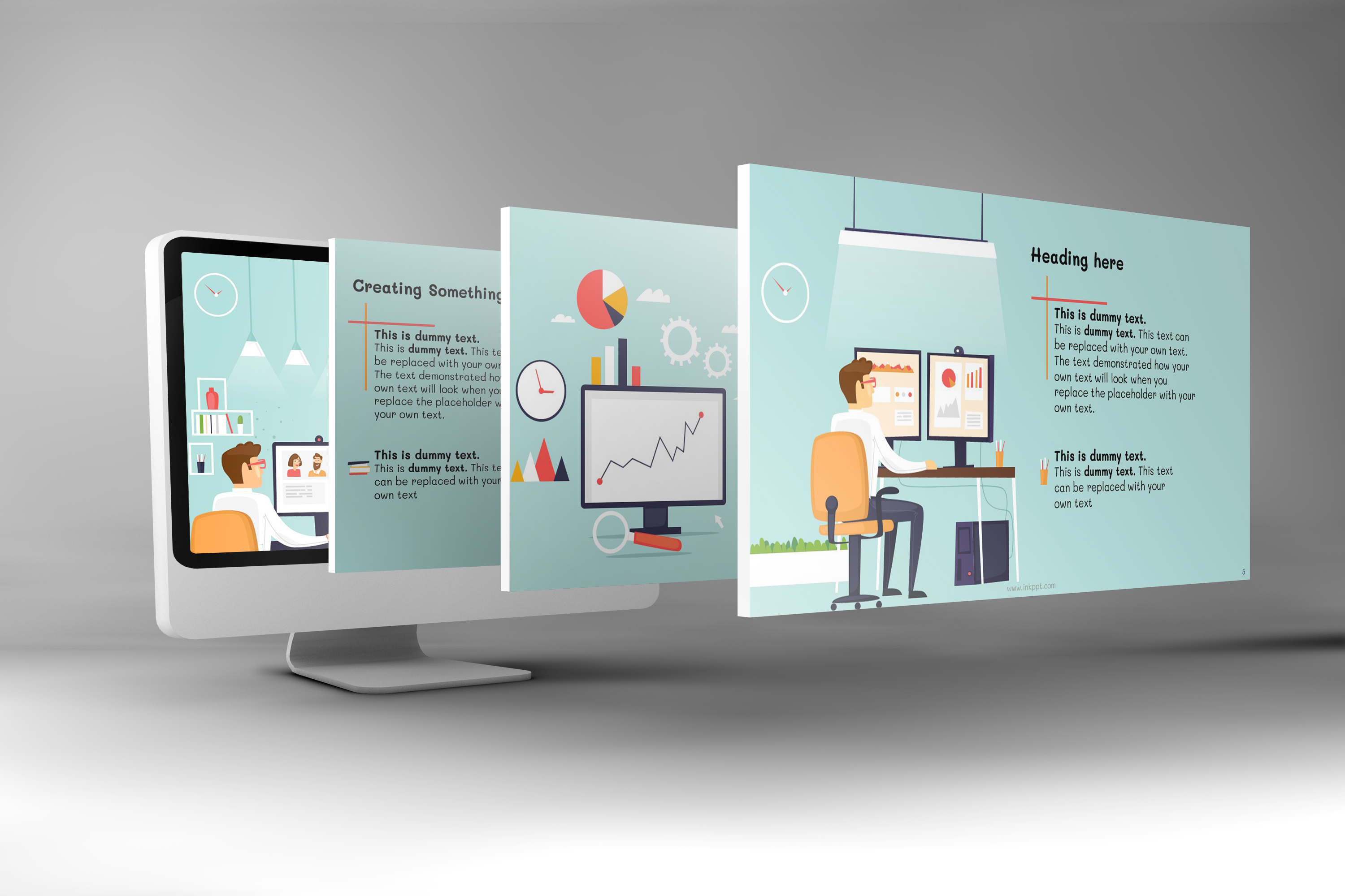Corporate Functions PowerPoint Template example image 1