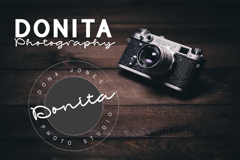 Bonandito Thing Font Duo example image 2