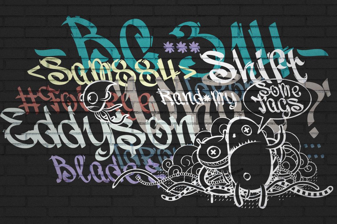 Vandal | Graffiti Font example image 6