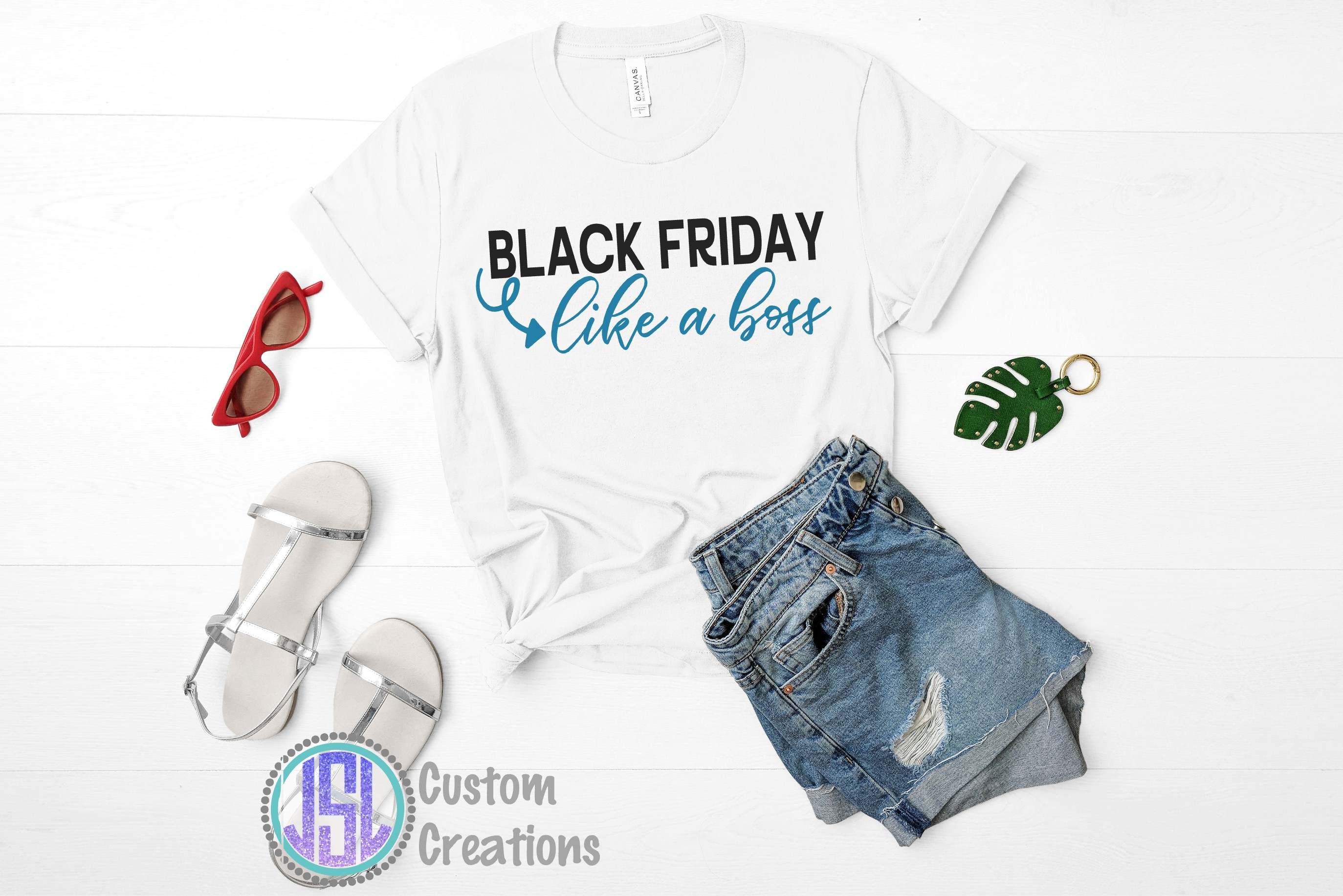 Black Friday like a boss| SVG DXF EPS PNG Digital Cut File example image 2