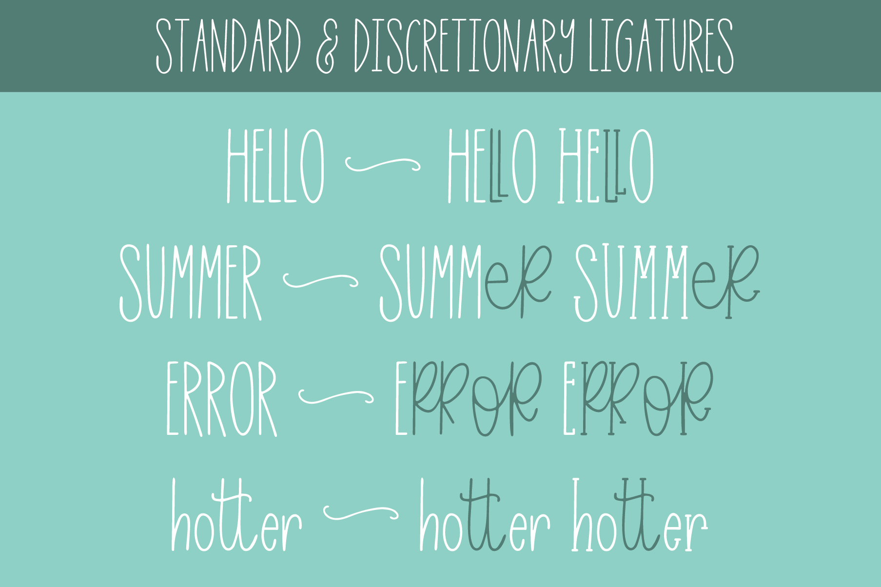 Easy Breezy, Sans Serif Doodle, Hand Lettered Font Trio example image 9