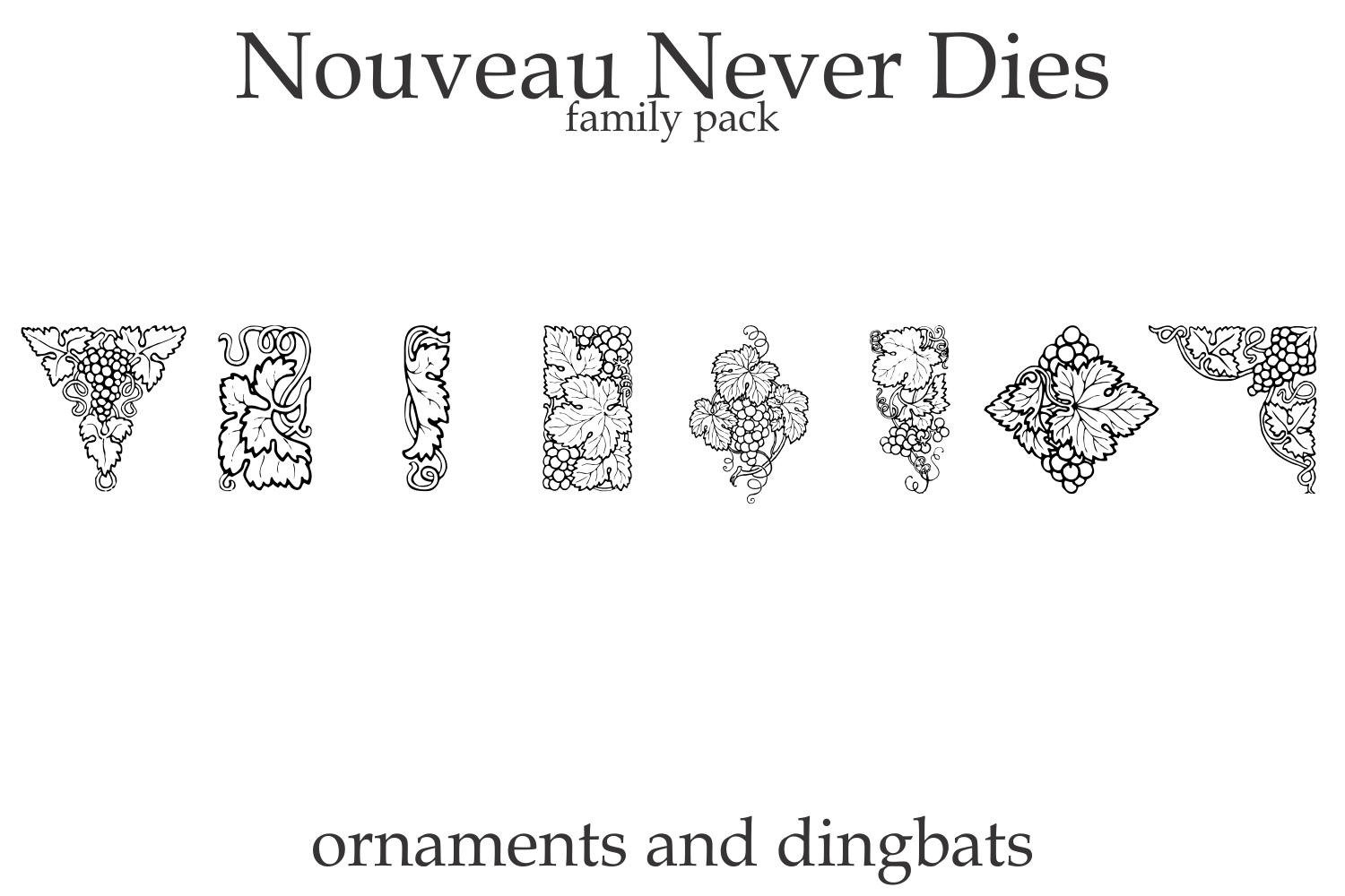 Nouveau Never Dies Family example image 2