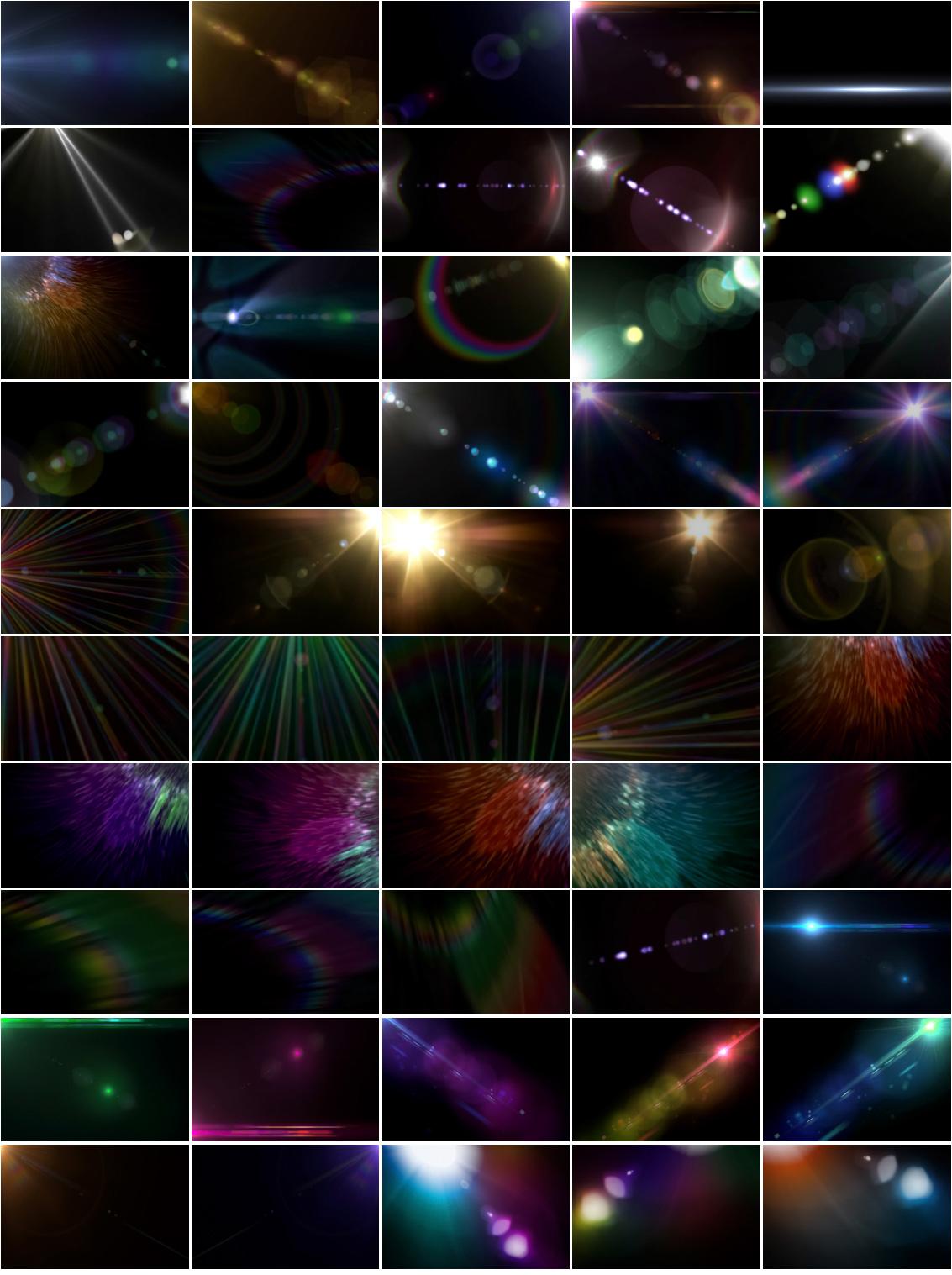 Optical Flare Overlay Effects example image 9
