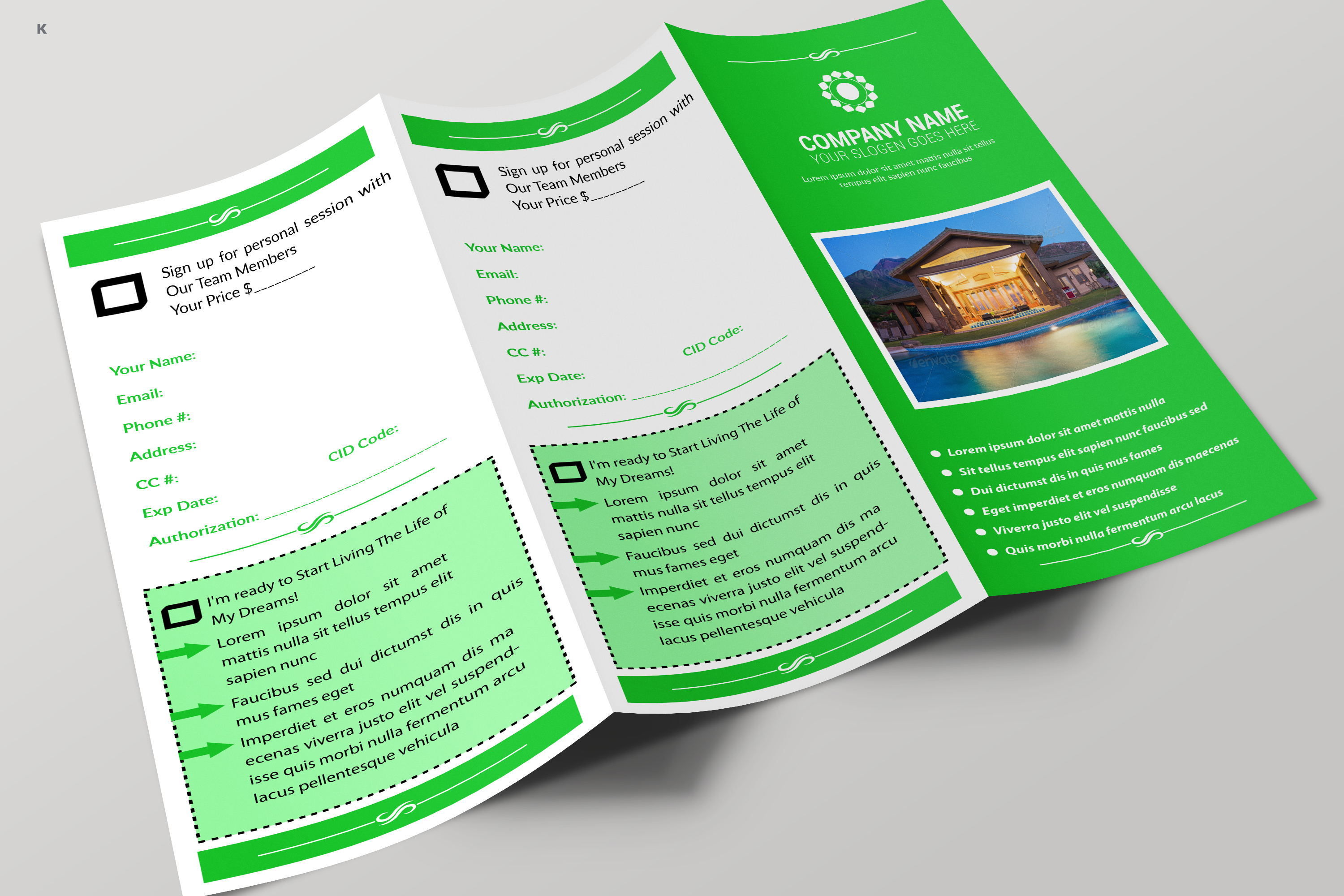 Real Estate Trifold example image 7