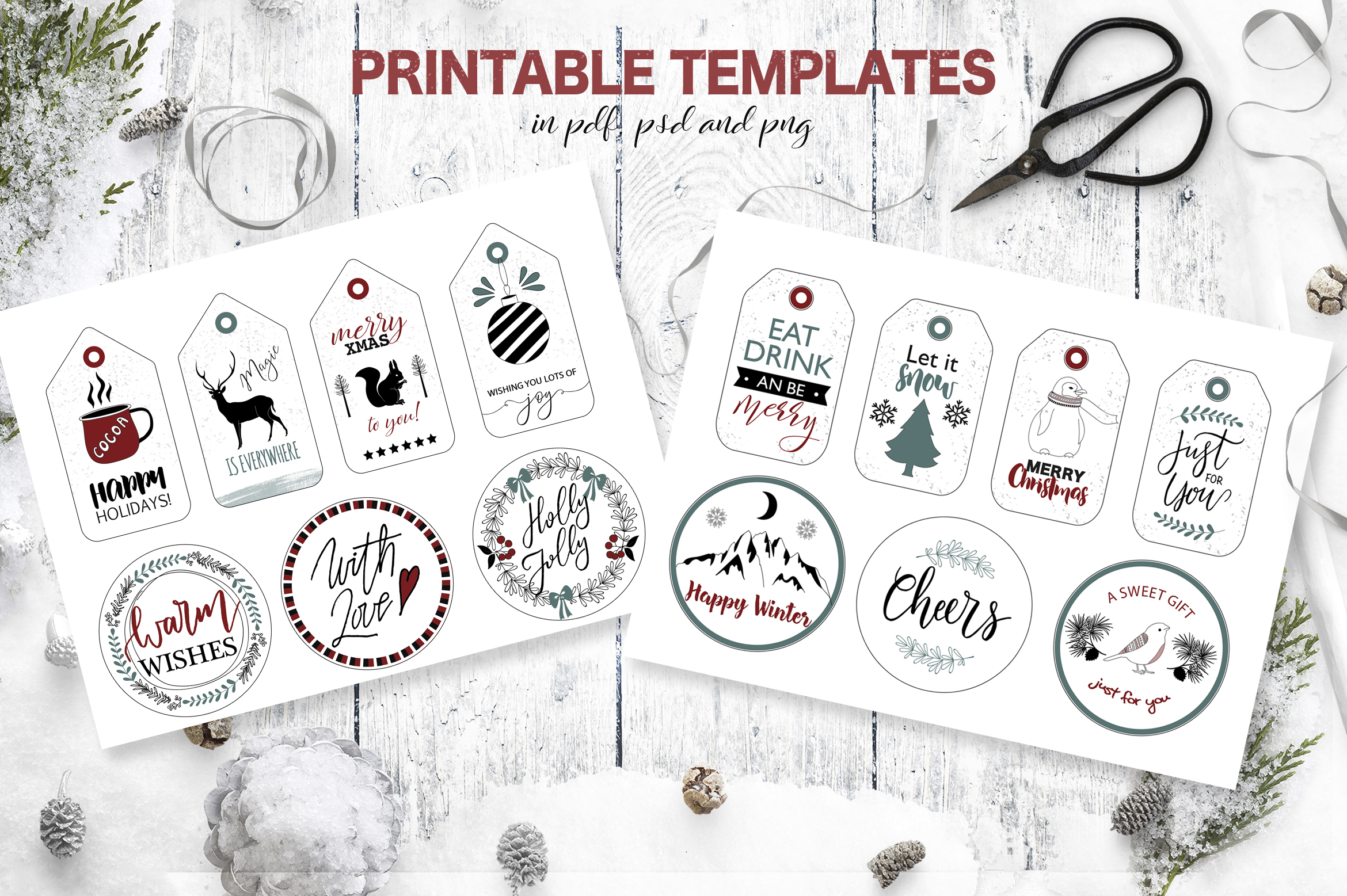 Christmas Design Bundle DIY example image 7