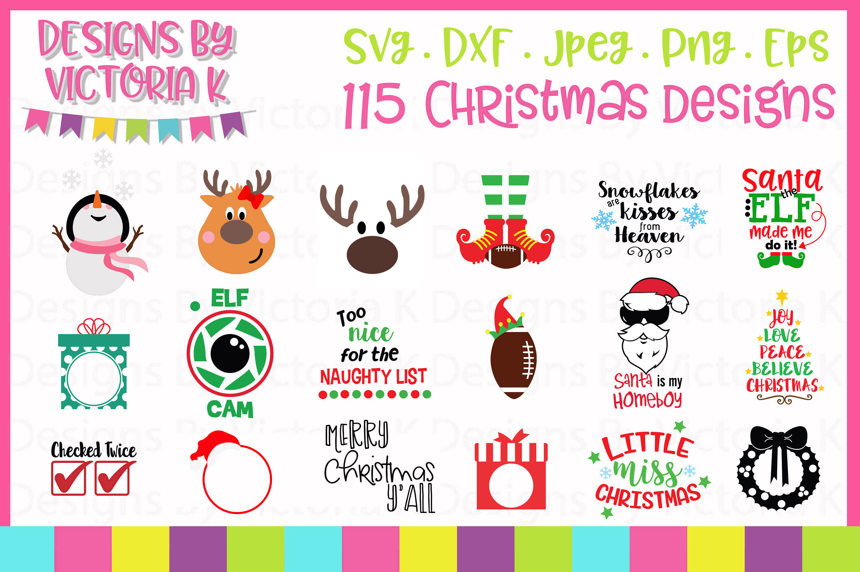 Christmas Bundle SVG Cut Files example image 1