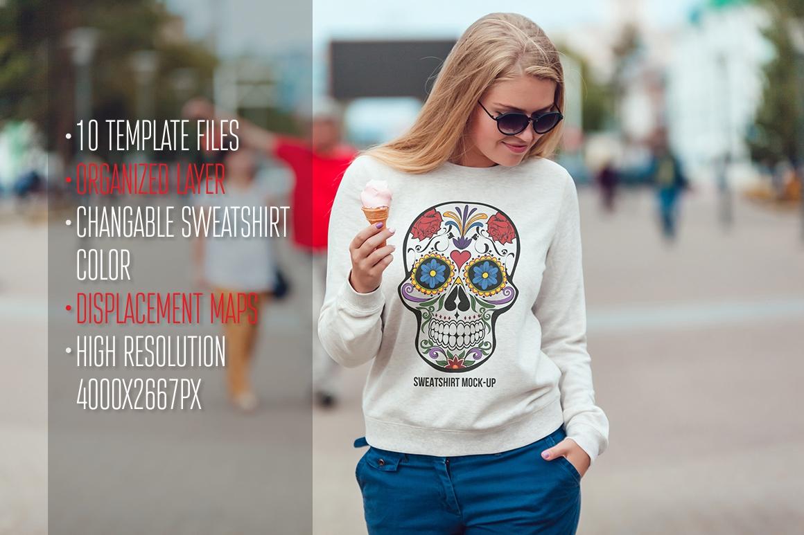 Sweatshirt Mock-Up Vol. 1 example image 2