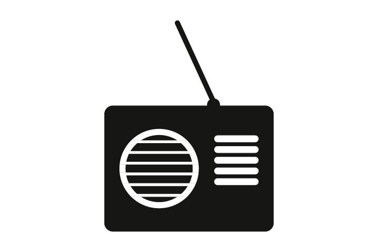 Radio icon example image 1