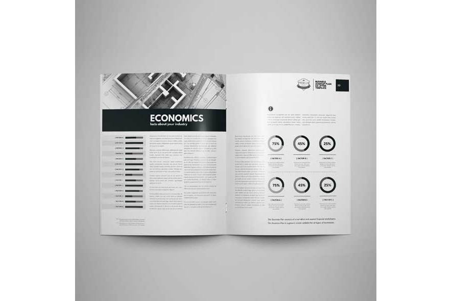 Business Startup Plan US Letter Template example image 3