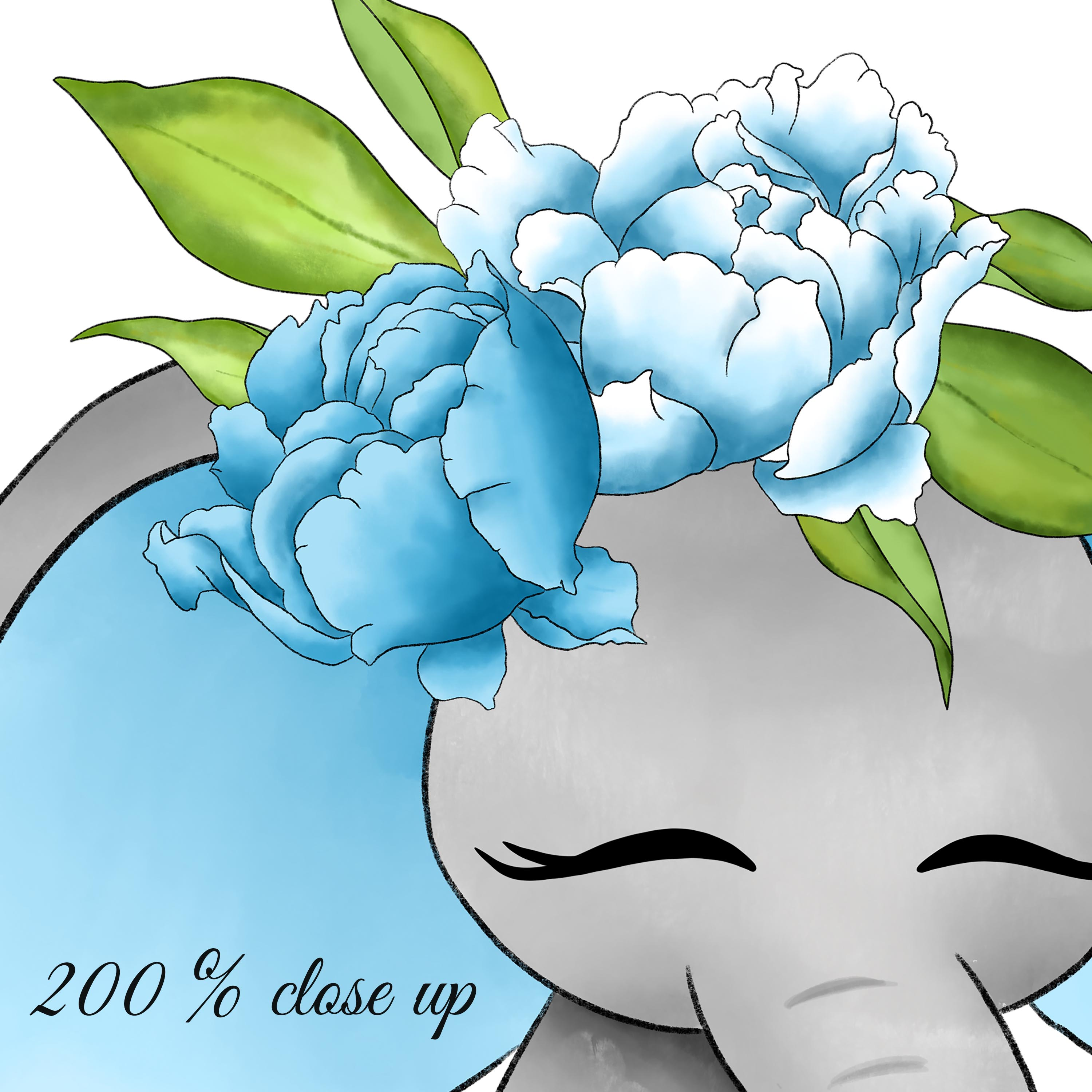 Baby elephant clipart example image 5